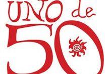 Uno de 50 / Onze prachtige sieraden uit Spanje! Uno de 50 werd 15 jaar geleden opgericht door een groep kunstenaars. Zij hadden als enige doel mooie sieraden te maken voor mensen met een sterke eigen persoonlijkheid die gek zijn op trends.