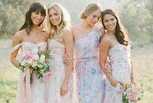 Damas de honor | Bridesmaids / Vestidos y tendencias para damas de honor. | Bridesmaids dresses, cool bridesmaids ideas, maid of honor dresses.
