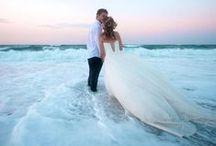 Bodas en playa | Beach Weddings / Ideas para bodas en playa, decoración para bodas en playa, vestidos de novia para bodas en playa | Beach wedding ideas, wedding dresses for beach weddings, decoration for beach weddings.