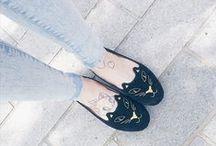 Shoes / I love shoes! heels, flats, crystals, prints, love them all!