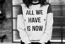 Fashion: Slogan Tops / What's on your chest