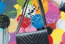 handbags / We use handbags every day, so make sure that handbag is pretty spectacular!