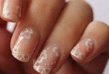 Manicure, Uñas para Novia, Boda | Manicure wedding bride / Manicure para novias, decorado de uñas para novia | Wedding nails, bride nails, bridal nails, nail art.