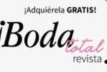 BodaTotal Revista / Encuentra consejos y artículos de expertos, las tendencias del momento y toda clase de inspiración e ideas para tu boda. Revista de bodas. #BodaTotalRevista http://bodatotal.com/revista
