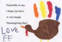 Acción de gracias / Manualidades, decoraciones y más sobre acción de gracias (Thanksgiving)