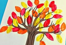 Otoño / Manualidades, decoraciones y más sobre el otoño