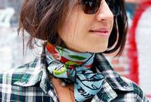 Silk Scarves / Silk scarves are one of my favourite accessories! I love all the different ways you can wear them!