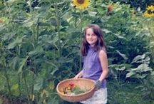 Kids Gardening and Nature Projects / Spending time in the garden and with nature-related projects are great ways to connect with your children. It's also a great way to get them outdoors and exploring the world around them.