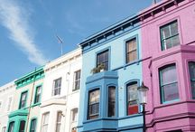 Dream Coloured houses / Colourful houses