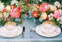 Bodas Primavera-Verano | Spring-Summer Wedding Trends / Tendencias de bodas Primavera - Verano | Spring and summer wedding trends to follow.