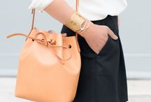 Bucket bags / I'm so into bucket bags right now!!!