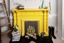 Home: fireplace accessories / by Fashion For Lunch