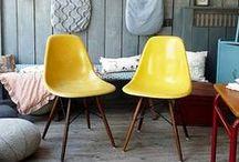 Home: Splash of yellow / A pop of sunshine!!