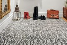 Tiled Hallways / Finding inspo for how to accessorise my tiled hallway