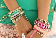 Jewellery: Arm Candy / Friendship bracelets are the cutest!