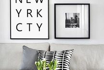 Home: Beige and grey / Muted tones for the home