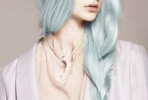 Hair: Blue