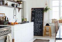Kitchen: Blackboards