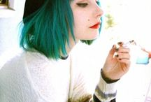 Hair: Green