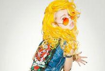 Hair: yellow