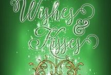 Christmas Wishes & Kisses / Book Three in the Christmas at the Meadowlark series by Roslyn Hardy Holcomb and Lisa G. Riley.