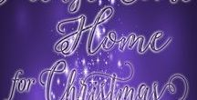 Please Come Home for Christmas / Book Five in the Christmas at the Meadowlark series by Roslyn Hardy Holcomb and Lisa G. Riley.