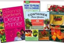 Great Garden Reads / There are so many good gardening books available but here are just a few of our favorites!