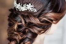 Hair Accessories / Hair jewelry and veils for updated looks.