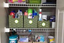 Utility Closet Organizing