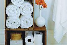 Bathroom Organizing / Organized bathroom, toiletries