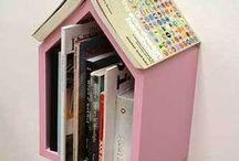 Book Organizing / organizing books, bookshelves, book collections, novels