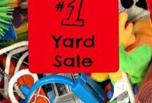 Yard Sale Organizing