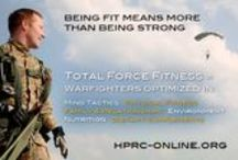 Total Fitness Events / Events by HPRC & partners