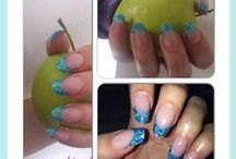 nails by gitte / This is acrylicnails i dó myself. You Can allso follow my work at facebook.  Nails by gitte