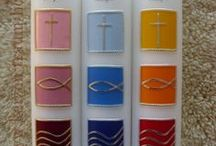baptism candles