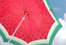 Watermelon / I'm watermelon addict. (/^3^)/ I just love them~ <3 this board contains designs, DIY, food, any stuffs about watermelon~ <3