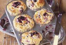 Muffins und Gebäck