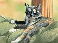 Cats : Illustr-Print-Poster-enz. / Heel mooi.