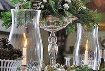 FLO. - Christmas grand centerpieces.