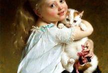 """Cats : Individuals with. / Katten zijn naast honden de trouwste huisdieren ooit. Men zegt..."""" Wie een kat streelt zal langer leven. """" Nou ik hoop dat dit waar is want mijn katten worden veel gestreeld :) :) :)"""