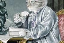 Cats : Painter cats.