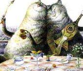 Cats : Vladimir Rumyantsev.