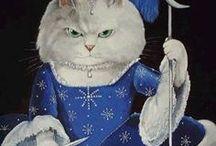 Cats : Susan Herbert.