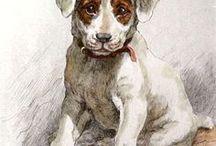 Art : Dogs.