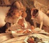 Art : Dogs and Children.