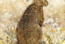 Art : Hares.