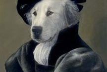 Art : Dogs Aristocrats.