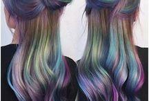 HAIR / Beautiful, colourful hair