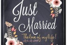 "WEDDINGS ""just married"""