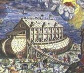 Sense : The ark of Noah.